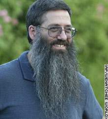Teacher Refuses to Shave Until Bin Laden Is Captured