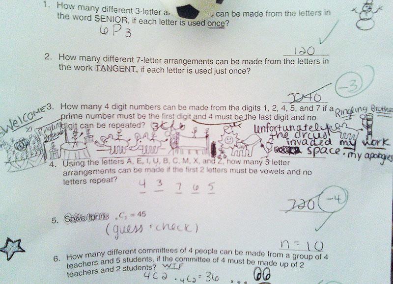 If all else fails, draw an animal