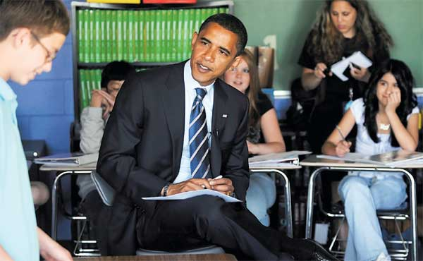 Obama's Plan for Community Colleges and Free Online Education