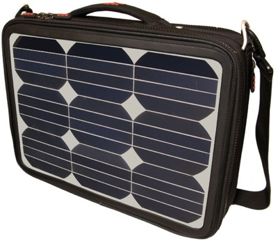 Voltaic Generator solar-powered laptop bag