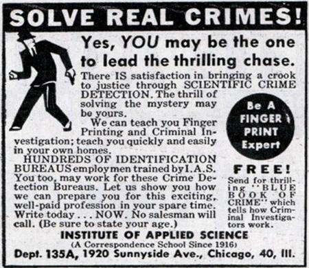 crime detection