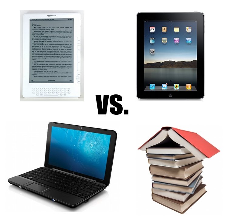 iPad vs Kindle vs Netbooks vs Books: What's Best for Students?