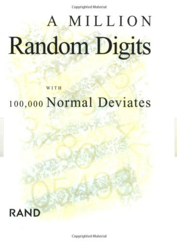 A Million Random Digits by Rand Corporation